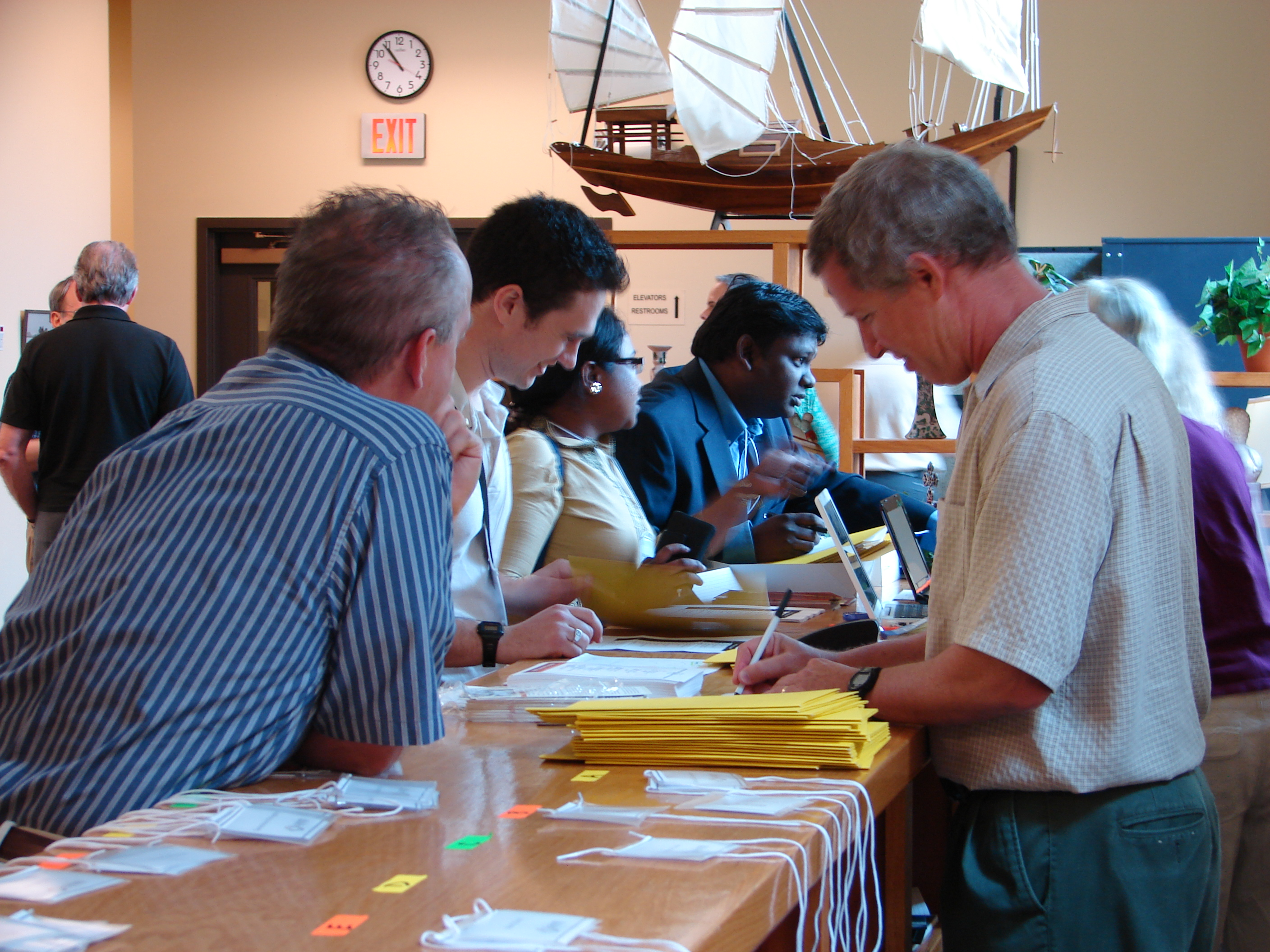 Annual Mtg - Registration Table
