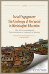 Social Engagement The Challenge of the Social in Missiological Education